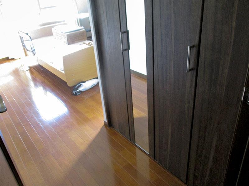 横浜市港北区 クローゼットを新設して使い勝手が良くなったお部屋