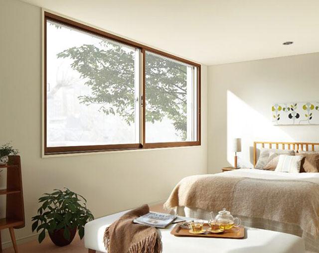 内窓取り付けの例:洋室