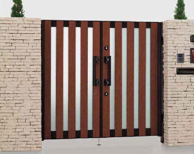アルミ形材門扉