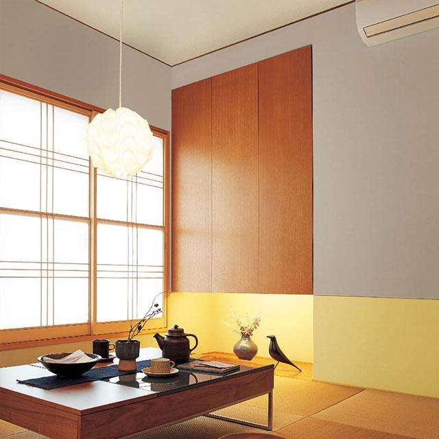 和室をイメージした部屋の例