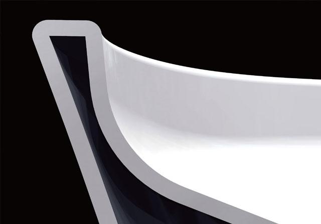 【LIXIL】汚れカット形状