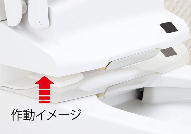 【LIXIL】お掃除リフトアップ