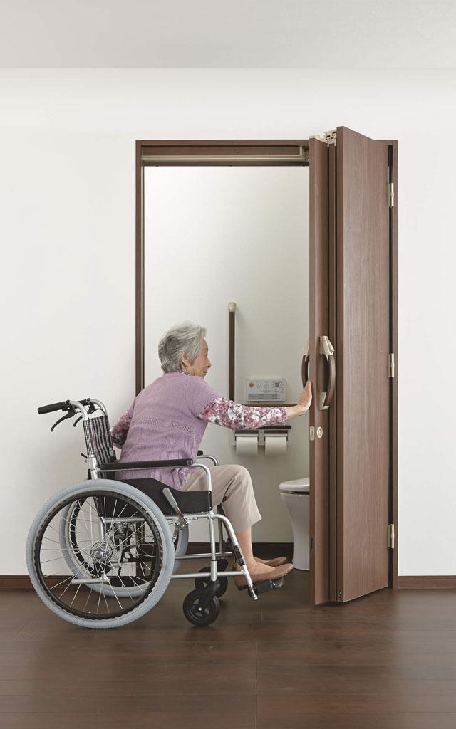 【DAIKEN】RIIIシリーズ 機能ドア(折戸ドア)