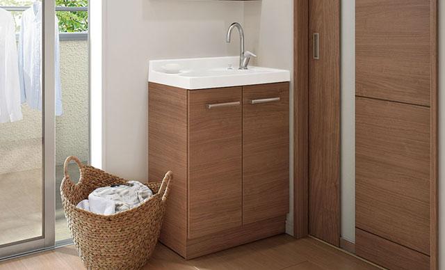 洗面台:コンパクトタイプ