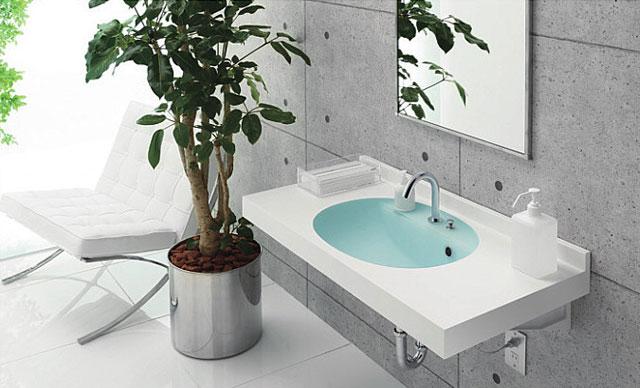 洗面台:カウンタータイプ