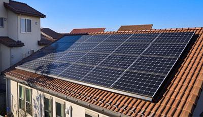 太陽光発電システム設置の施工事例