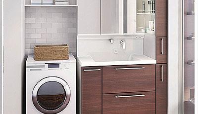 洗面リフォームの施工事例